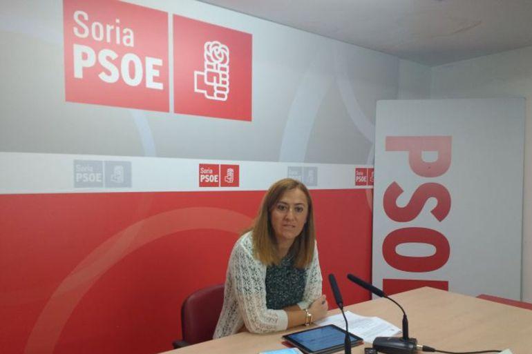 La vicesecretaria general del PSOE de Castilla y León, Virginia Barcones