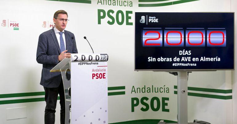 El PSOE promete recuperar su plan de doble vía para el AVE.