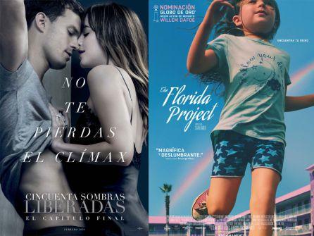 """""""Cincuenta sombras liberadas"""" y """"The Florida project"""""""