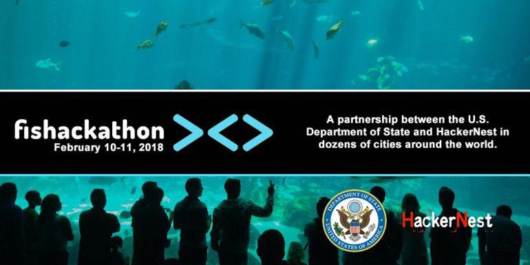 Cartel Oficial de Fishackathon '18