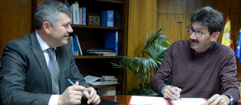 Ovidio Rodeiro y José Manuel Pequeño