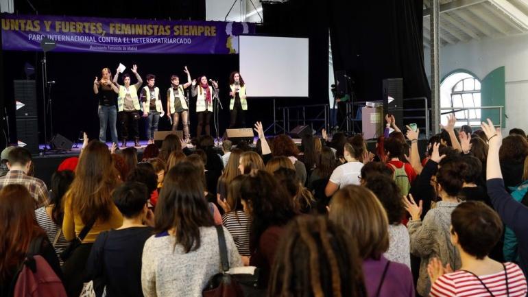"""Manifestación ocho de marzo: El movimiento feminista se prepara para """"desbordar"""" Madrid el 8 de marzo"""