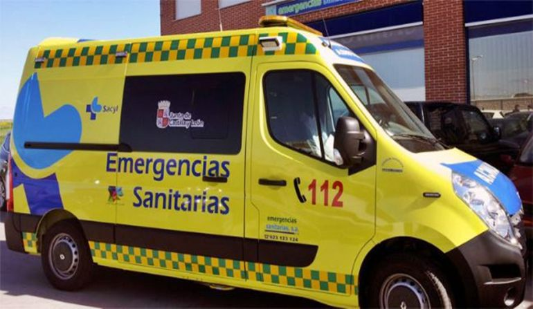 Ambulancias del Servicio de Emergencias 112