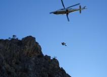Se duplica el número de rescates en las montañas valencianas