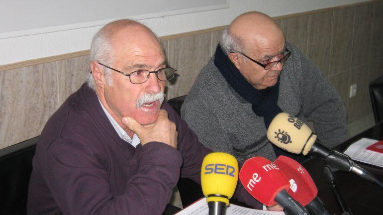 Secretarios de UGT y CCOO de Pensionistas en Bierzo y Laciana