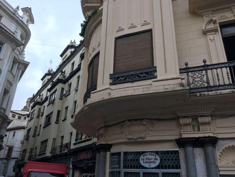 Edificio Casa Colomera. Plaza de las Tendillas. Córdoba