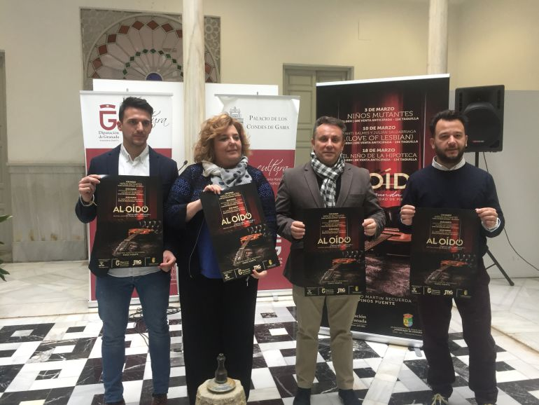 """Presentación de la segunda edición del festival """"Al Oído"""" de Pinos Puente."""