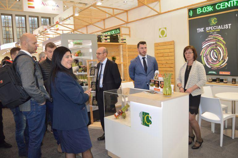 Granada: El campo granadino comprueba en Berlín su excelente nivel internacional