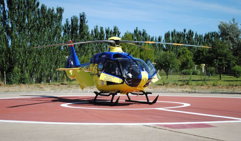 El herido ha sido trasladado a la Unidad de Quemados del Hospital de Getafe