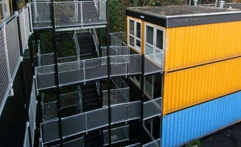 Casas prefabricadas a la espera de un piso social sercat - Casas prefabricadas barcelona precios ...