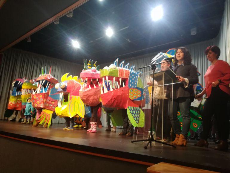 Las pirañas subieron dos veces al escenario a recoger premio