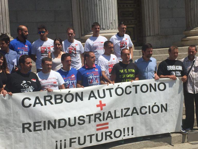 Movilización de los trabajadores de Astur Leonesa