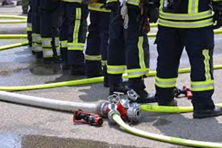 Intervención de bomberos