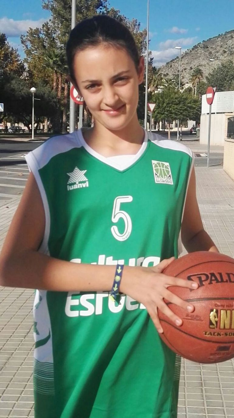 Candela Sabater Sánchez es una de las doce elegidas para estar en Cádiz