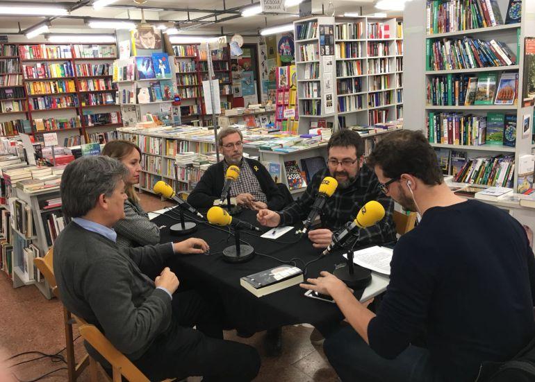 El programa Soroll des de la Llibreria 22 de Girona pel Dia Mundial de la Ràdio