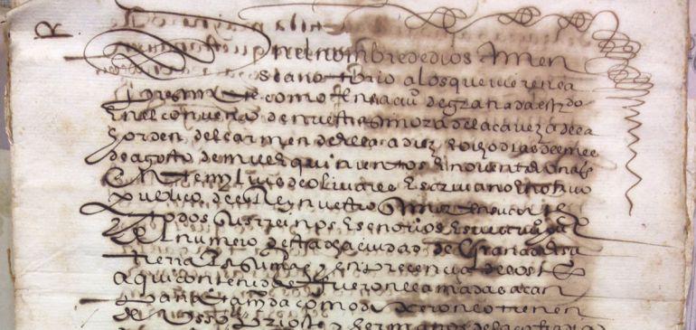 Extracto de la agregación de la Cofradía de Ntra. Sra. de la Soledad y Entierro, de Cristo, de Granada, a la Archicofradía de la Oración y Muerte, de Roma