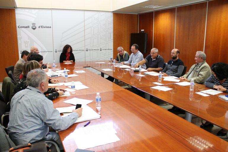 Imagen de archivo de una reunión de Transporte