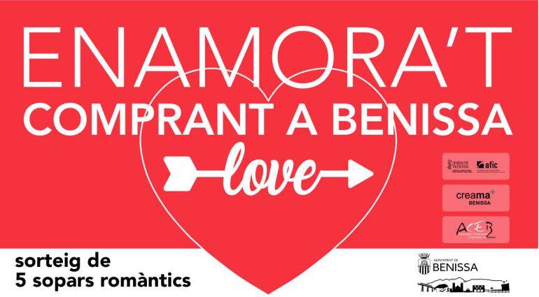 Campaña Comercial con motivo de San Valentín.