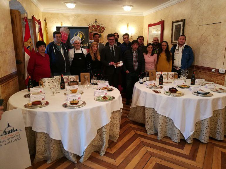 La nueva edición de este concurso de tapas del Judión ha sido presentado en el Ayuntamiento de La Granja