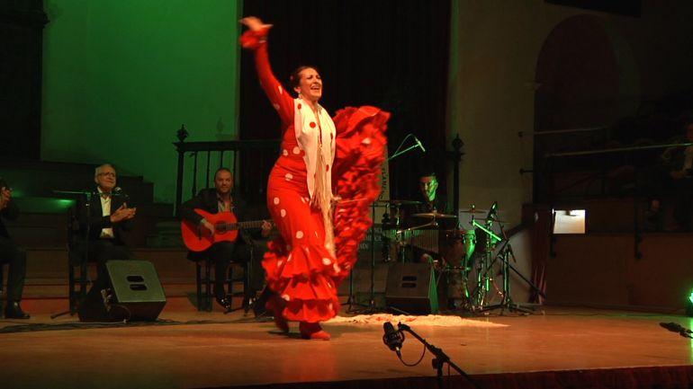 La bailaora Amparo Navarro, una de las artistas que actuará en el festival.