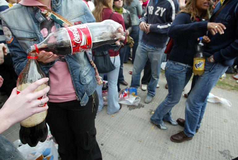 La Policía atiende a 16 menores por consumo de alcohol y levanta 45 actas de incautación