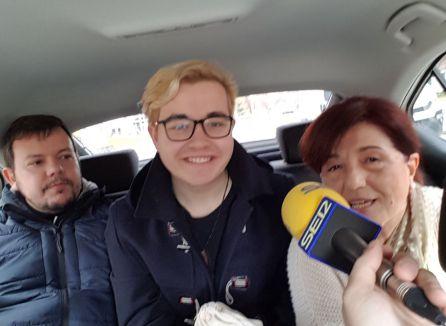 Hoy por hoy La Mancha en un taxi por el Día Mundial de la radio
