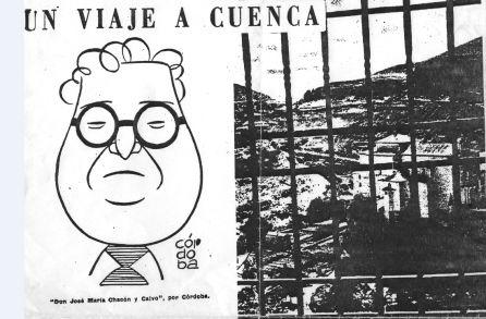 """Articulo de Ruano """"Un viaje a Cuenca""""."""