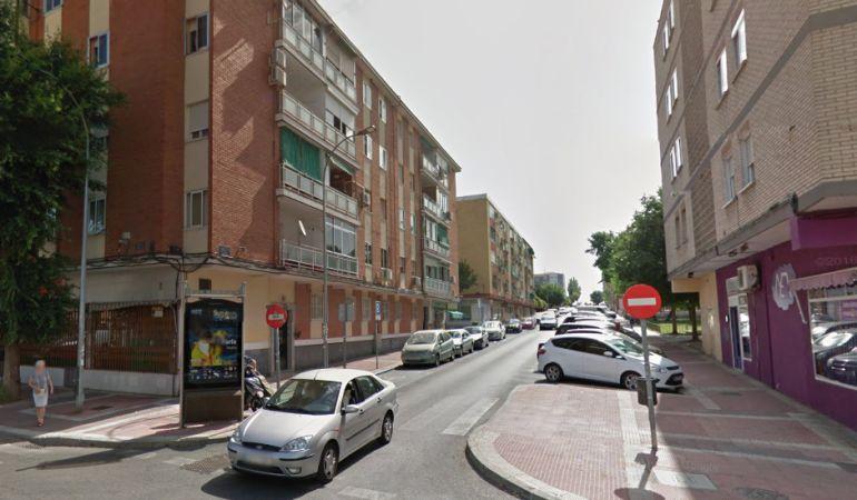 La agresión se produjo en la calle Fernando III el Santo de Parla