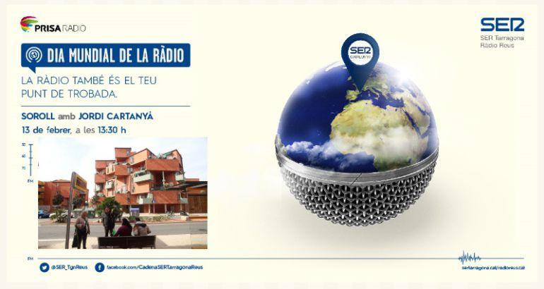 Imatge promocional del dia de la Ràdio a la Cadena SER