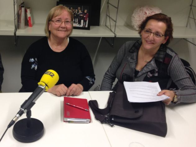 Marcela Garcia i Ana Garcia vicepresidenta i presidenta de l'Associació de Dones Blanca Almendro