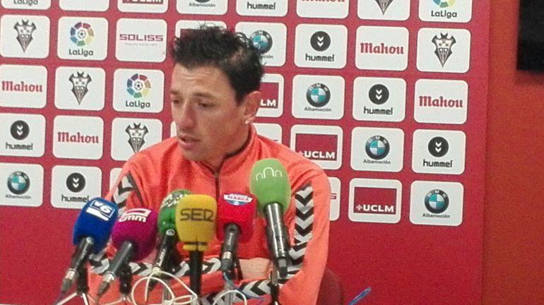 """Gorosito: """"En Oviedo tenemos que ser intensos y efectivos"""""""