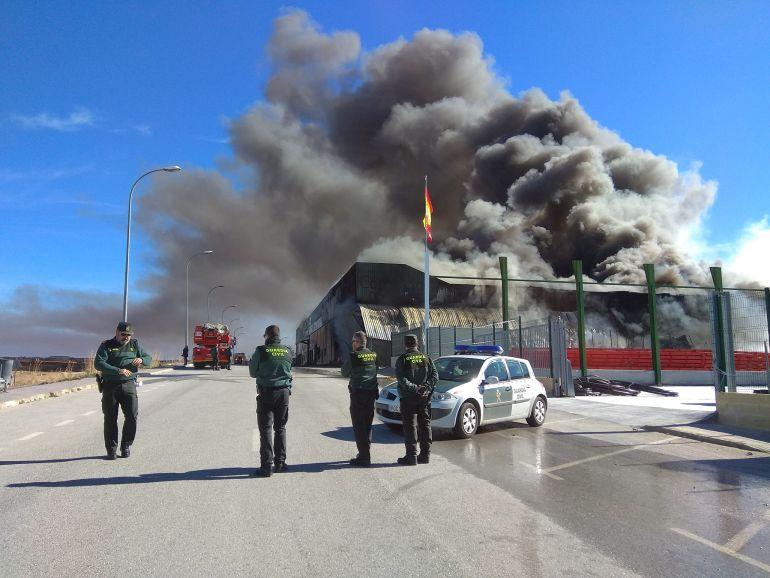 Incendio en Caniles