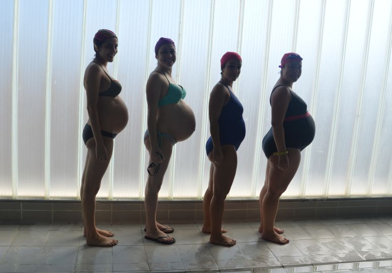Según las matronas, estas clases son la mejor opción, sobre todo, para las mujeres que ya están de 27 o 28 semanas