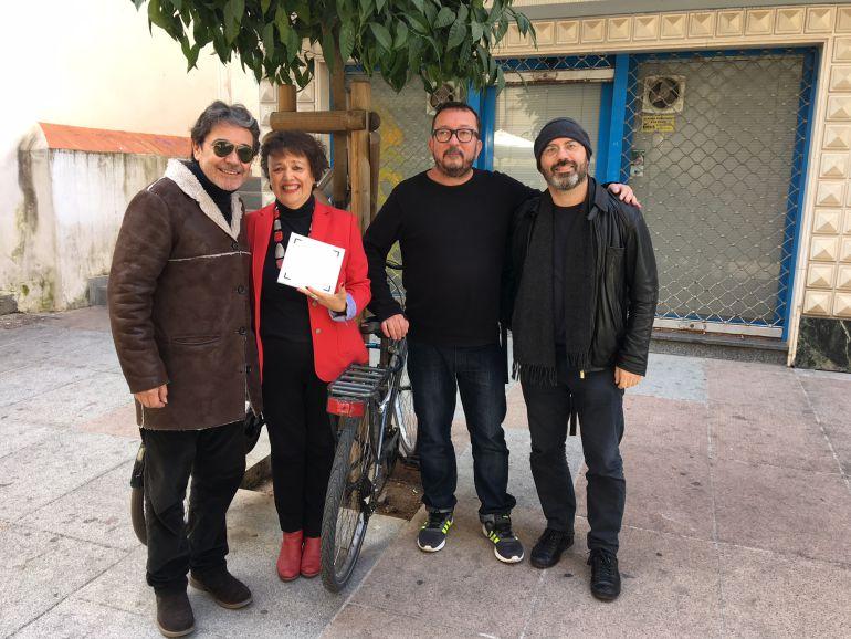 Javi Nervio, Rafi Valenzuela, Juanjo Fernandez y Luis Medina