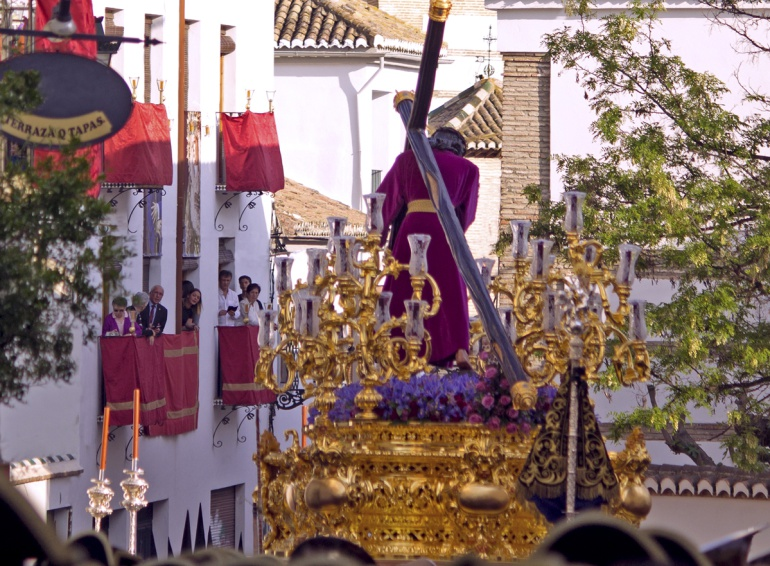 """""""Pasión"""", detalle de la fotografía ganadora del concurso """"Pasión por Granada"""""""