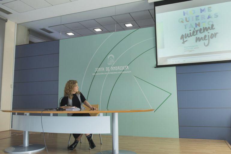 Ana Belén Palomares presenta la campaña #quiérememejor contra la violencia de género