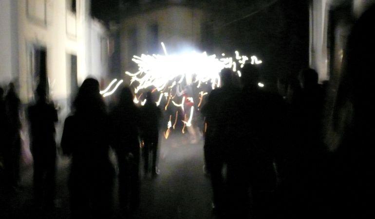 """Imagen del """"Enterro da Sardiña"""""""