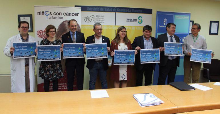 Presentación en Albacete de la Red de Expertos y Profesionales en oncohematología pediátrica de Castilla-La Mancha