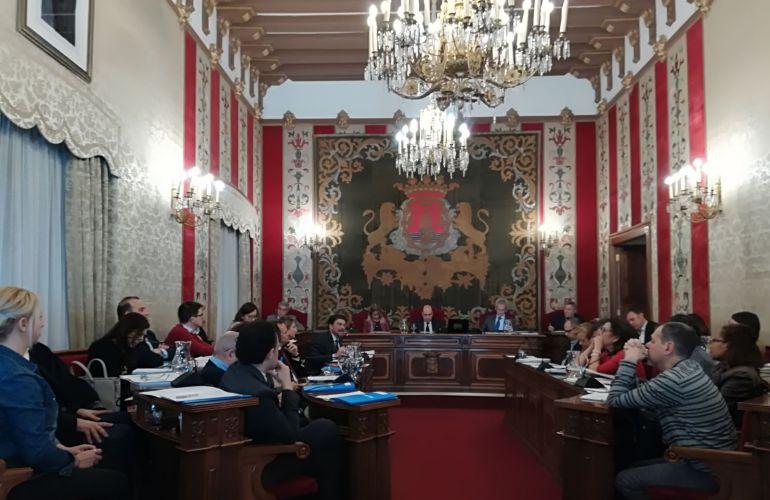 Pleno extraordinario de febrero del Ayuntamiento de Alicante