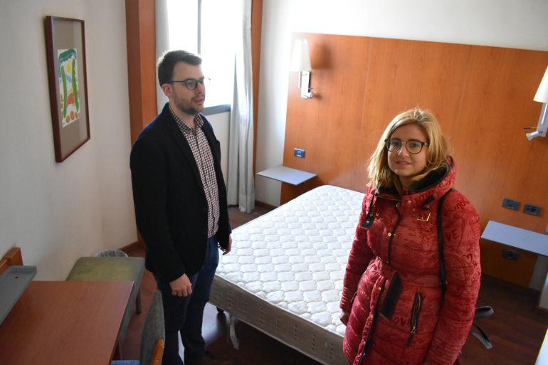 La alcaldesa de Petrer y el concejal de Urbanismo, han visitado el hotel de Petrer