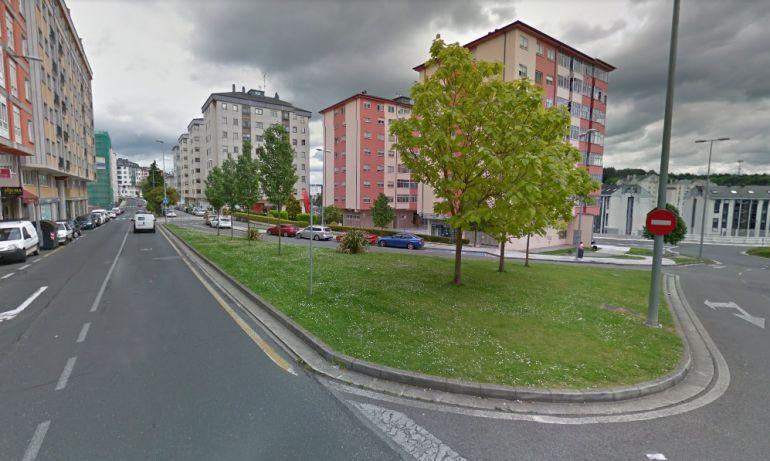Proximidades de las calles Río Sil e Infanta Elena, donde se ha producido uno de los casos de exhibicionismo en Lugo