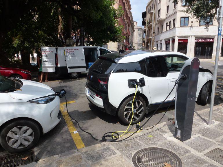 En Balears solo hay 150 vehículos eléctricos de alquiler de una flota total de 100.000 coches