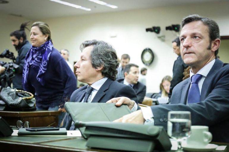 En primer término el diputado nacional por Palencia, Miguel Ángel Paniagua