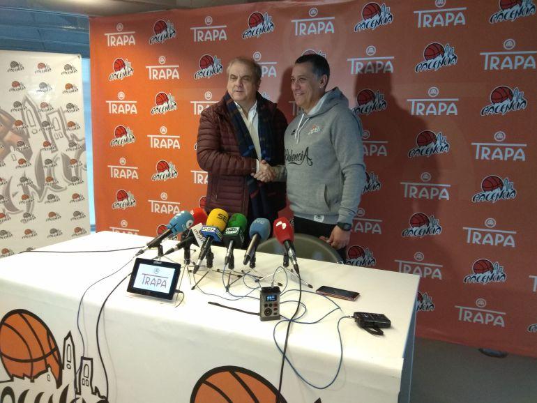 Gonzalo Ibáñez junto a Alejandro Martínez Plasencia