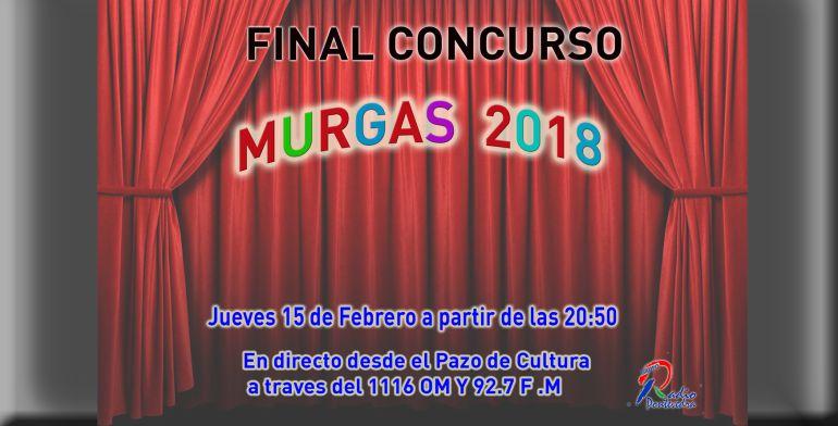 Segunda semifinal do Concurso de Murgas 2018: Segunda semifinal do Concurso de Murgas 2018