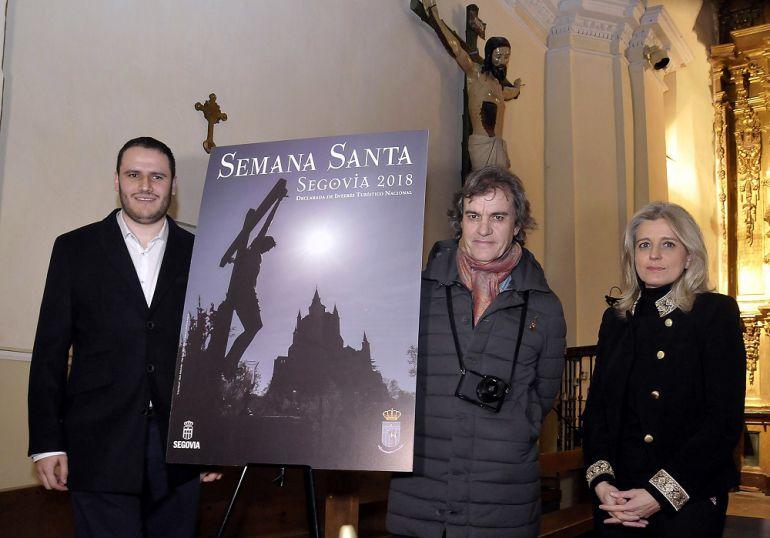 Mercedes Sanz junto a Mario Antón