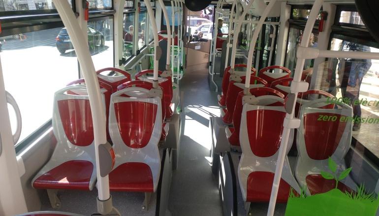 Imagen de uno de los nuevos autobuses