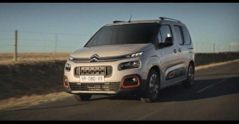 El nuevo modelo Citroën Berlingo K9.