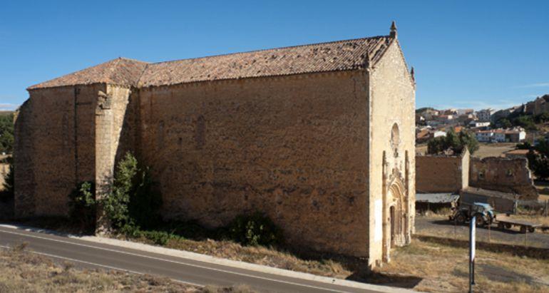 Panteón de los Marqueses de Moya. Así se conoce a la iglesia del antiguo monasterio de los Dominicos de Carboneras de Guadazaón (Cuenca), el único edificio que se conserva de aquel convento.