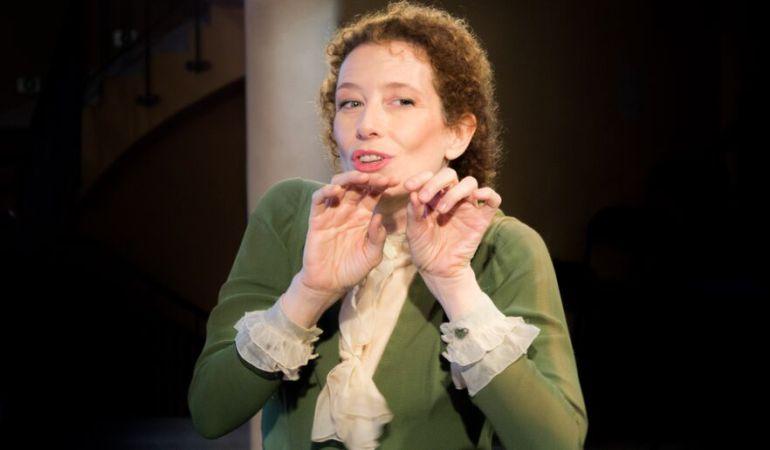 Clara Sanchís en 'Una habitación propia', con la que podrá charlar el público tras la actuación